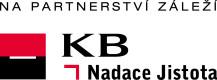 Logo Nadace Komerční banky, a. s. – Jistota